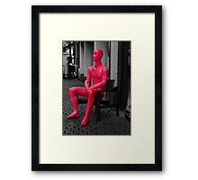 Neon Man* Framed Print