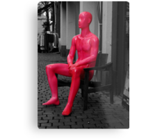 Neon Man* Metal Print