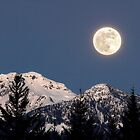 Moon Glow, Whistler by Pierre Leclerc