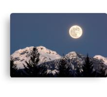 Moon Glow, Whistler Canvas Print