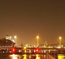 Torontobridge by night by AnnoNiem Anno1973