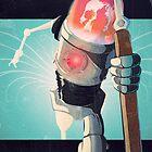Robot 13 Fanart, Vintage by Tepa Lahtinen