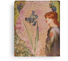 Blue Iris Canvas Print