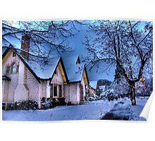 Kelowna Winter Poster
