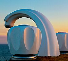 Sculptures by the sea by ilanasal