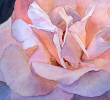 Heart of a Rose 1 by Jan Lawnikanis