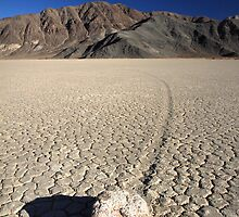 Race track, Death valley national park by Pierre Leclerc