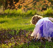 In a Sea of Violets..And Grandfather, I know I'd always pick you... by laruecherie