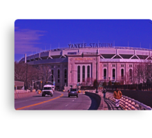 Yankee Stadium, The Bronx- New York, New York Canvas Print