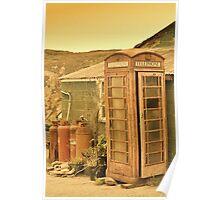 Abandoned Phone Box Poster