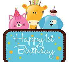 1st Happy Birthday by riteshpatel