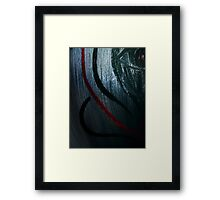 'And From My Soul Comes The Darkness' ~ Pore Space Inkling No 2 Framed Print