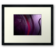 'And From My Soul Comes The Darkness' ~ Pore Space Inkling No 3 Framed Print