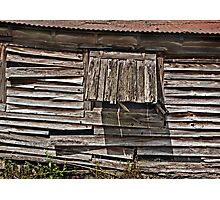 Weathered! Photographic Print