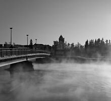 Sun, Snow and Steam II by SunDwn