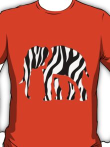 Elephant Zebra: Wild Mash Up T-Shirt