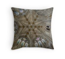 St Mary's Ceiling Throw Pillow