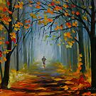 MORNING JOG - LEONID AFREMOV by Leonid  Afremov