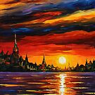 MORNING SKY - LEONID AFREMOV by Leonid  Afremov
