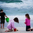 Cousins on the beach  by KSKphotography