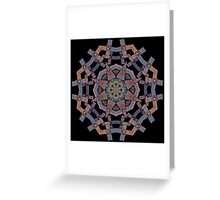 Big Butch Kaleidoscope Greeting Card