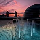 Southbank Sunrise: Tower Bridge &amp; City Hall by DonDavisUK