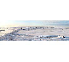 Early Morning on the Tundra, Churchill, Canada Photographic Print