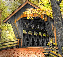 Wisconsin Covered Bridge by JohnDSmith