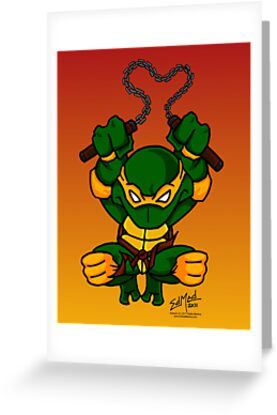 Michaelangelo Teenage Mutant Ninja Turtles by EdMedArt