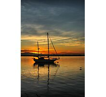 Harbor Sunrise Photographic Print