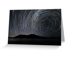 """Swirls"" ∞ Lake Somerset, QLD - Australia Greeting Card"