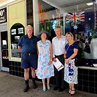 Tallangatta Picture - Australia Day Celebrations by Jenny Enever