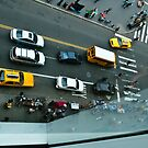 Yellow Cab Below by Jeff Kauffman