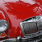 MGA Roadster Sportscar by Pete  Burton