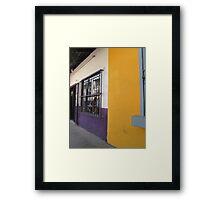 Houses - Casas Framed Print