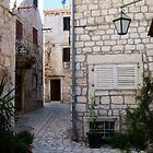 Back Streets on the Island Hvar by Jillian Rubman