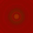 Noisy iCase - Adobe Red Circles by HighDesign