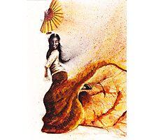 Bailaora de flamenco - Morena Photographic Print