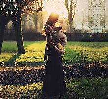 Mother and son by AlexandraSophie