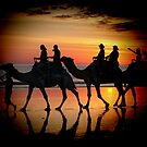 &#x27;&#x27;Camels at Sunset&#x27;&#x27; by bowenite