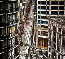 urban canyon by Bruce  Dickson