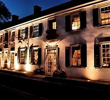 An Evening at the Black Bass Hotel by Debra Fedchin