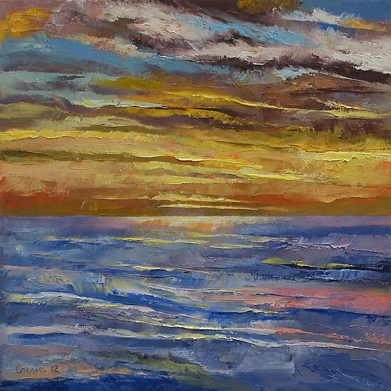 Parfait Sunset by Michael Creese