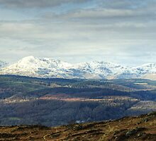 Views West From Rusland Heights  by VoluntaryRanger