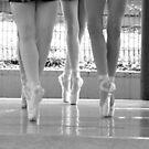 Pointe Legs by Alfredo Estrella