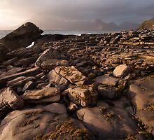 Late light at Elgol by Christopher Cullen