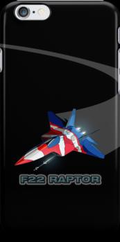 F22 RAPTOR by MarkSeb