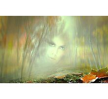 Autumn Portrait Photographic Print