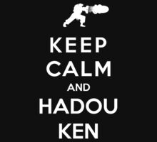 Keep Calm And Hadouken by Royal Bros Art