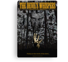 The Devil's Whispers Canvas Print